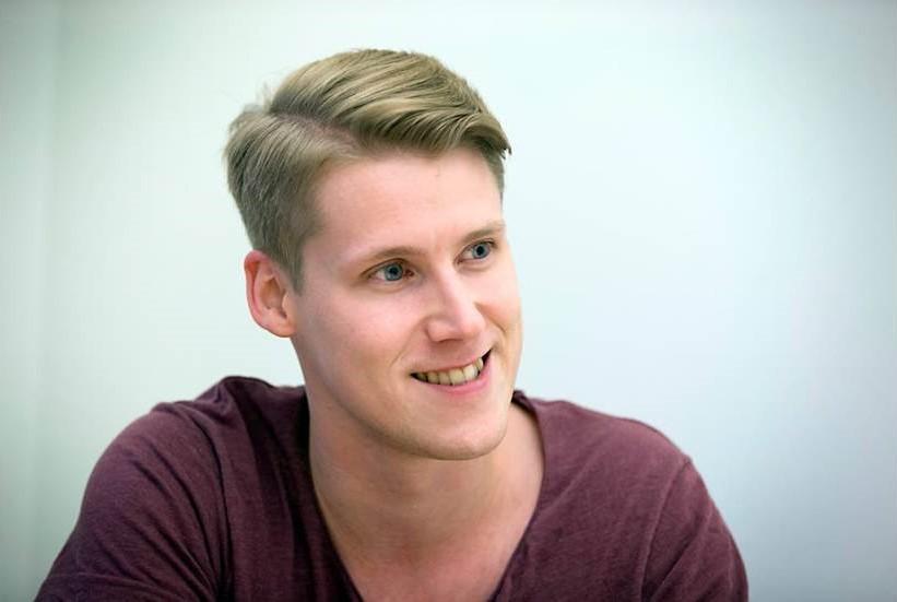 Samuel Holmström, VD på Lundqvist Trävaru AB vill bygga en ny fabrik ute på Haraholmen.