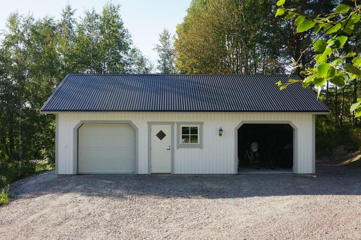 Carport : Lundqvist Trävaru : bygga garage själv : Inredning