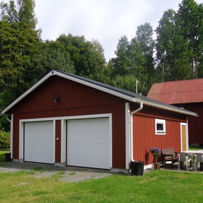 Ett garage till sommarstugan?