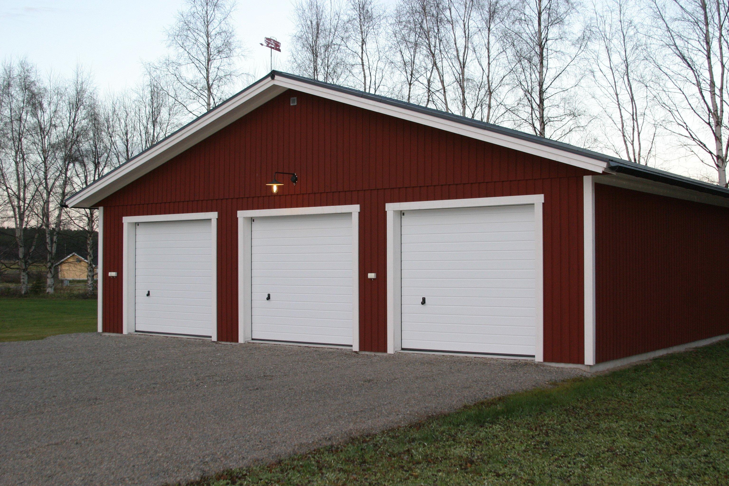 Garage dubbelgarage garage med f rr d garage med for A 1 garage