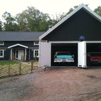 Dedikerat garage till Ford!