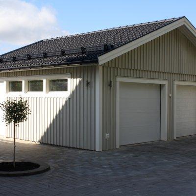 Garage med härligt ljusinsläpp