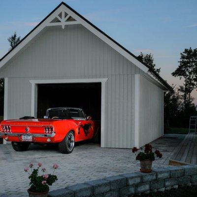 Bilen förtjänar garaget