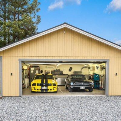 Garage för bilentusiasten